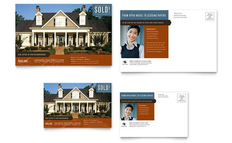 Real Estate MarketingPostcard Template