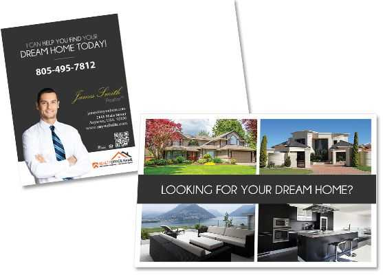 Creative Real Estate Agent Postcard