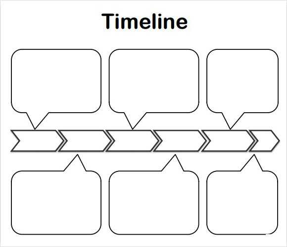 History Timeline Template Ms Word