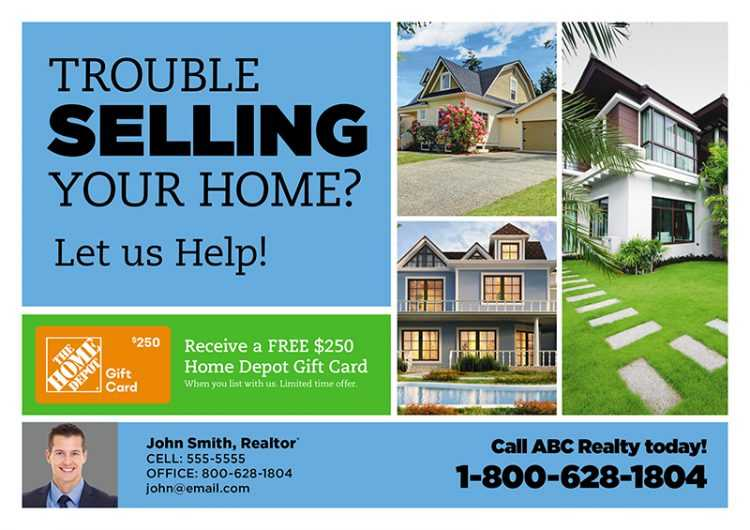 Real Estate Promo Postcard