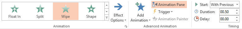 Create Animation of Timeline In PowerPoint