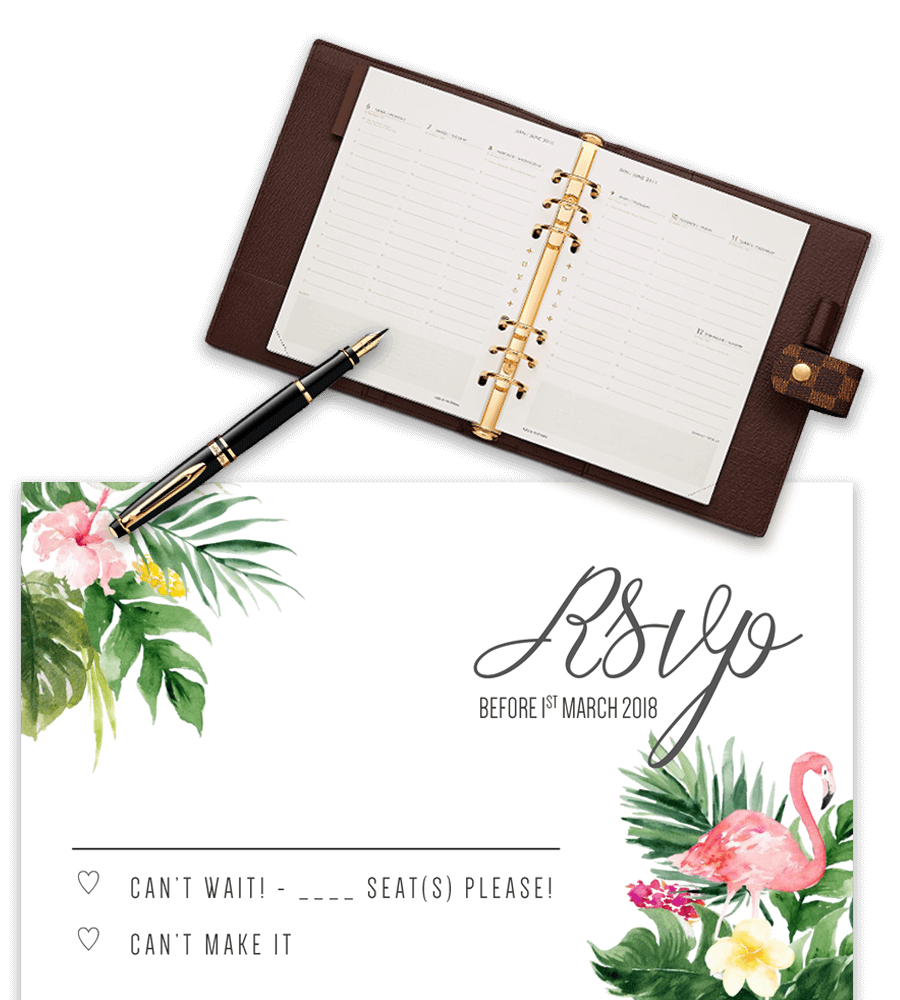 free rsvp templates for microsoft word