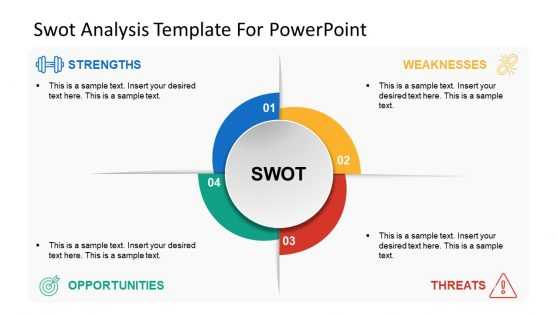 Swot Puzzle Template