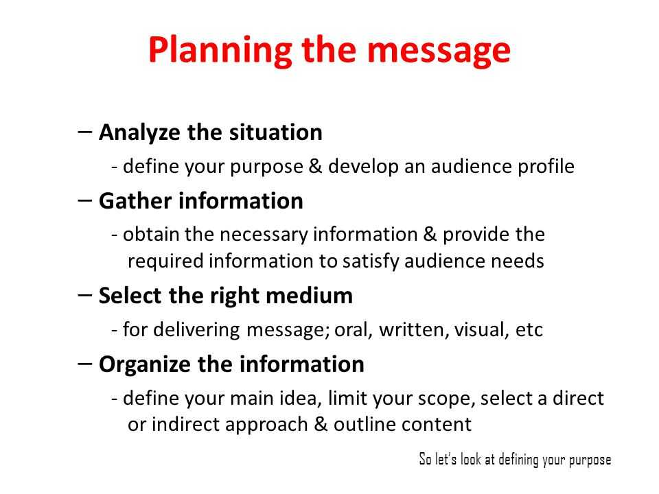 Provide And Gather Necessary Information