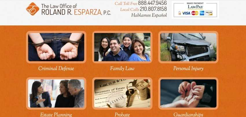 Law Office Of Roland R Esparza Pc
